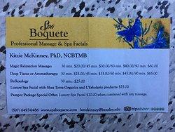 Spa Boquete Professional Massage and Spa Facials