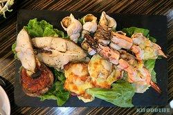 烤焗海鮮拼盤