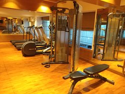 Gym on the 7th floor. Will probably take 5-6 guests max.