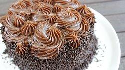 Torta de Brigadeiro!!! Hummmm