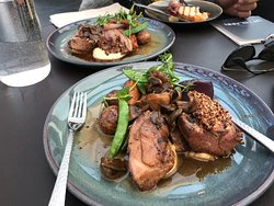 Lamb for main course