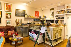 Golden Rooster cafe at Tara Antiques