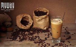 Vietnamese coffee with milk (ice)