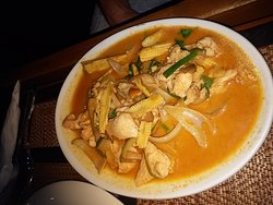Chicken curry (can't remember which!)