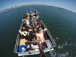 Hot Tub Cruisin, Hot Tub Boat, Boat Rental San Diego, Fun Things to do in San Diego, Sunday Fund