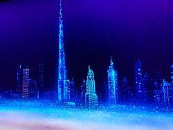 3D Blacklight Minigolf Dubai GR