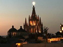 Spectacular terrace views of the Parroquia