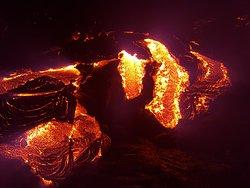 Lava flow we have seen