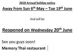 Memory Thai