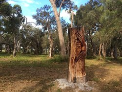 Chainsaw Sculpture Drive