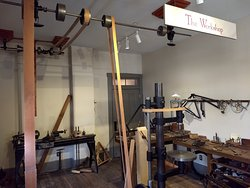 The Workshop in the Fourth Wright Cycle Shop