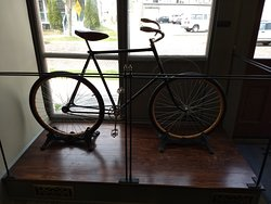 A Replica Bicycle in the Fourth Wright Cycle Shop