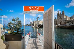 Drop by while enjoying a walk along a picturesque promenade