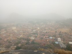 Picturesque view from the Ogidi mountain range.