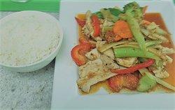 Lemongrass chilli chicken