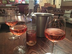 Enjoying what Llanerch Vineyard has to offer!