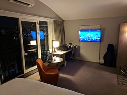 Upgraded room, much nicer than the standard room which was tiny