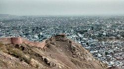 Vista desde el Fuerte en Jaipur