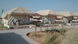 Carpas en Desert Springs (Jaisalmer)
