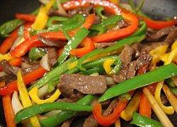 Pickle & bamboo shoot - Bò xào ớt đà lạt