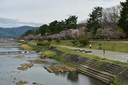 Kamogawa Delta (Kyoto Prefectural Kamogawa Park)