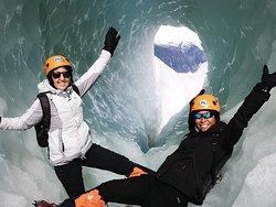 Glacier Hike --Ice caves