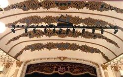 Ornate ceiling