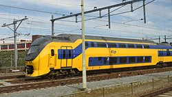 The Schiphol NS Dutch Railways