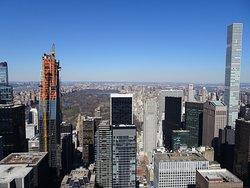 Vista hacia el norte: Central Park