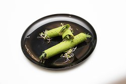 Crepes de espinafres c/ cogumelos ( S/Gluten e S/Lactose)