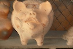 A huge piggy bank