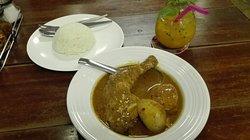 Curry Gerichte herausragend