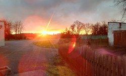 Un levé de soleil à thehillac