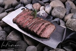 Flank Steak. Soft, delicate and extremely appetizing.The most delicious at InFusion Bar & Restau