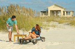 Food and Drink service delivered right on the beach