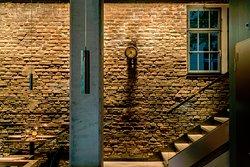 Historische Details im ehemaligen Heizraum des Stadtbad Oderberger