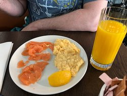 Lox and eggs