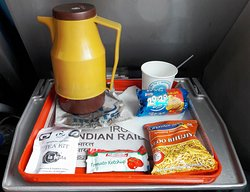 Tea/Coffee served with Snacks