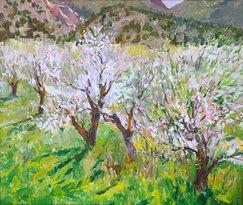 Walt Gonske - Spring Apple Blossoms