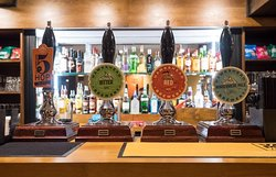 Selection of Hawkshead real ales