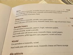 Impero Speciale Pizza not to be missed
