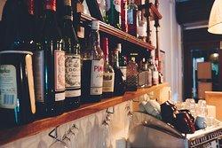 Bar and coffee machine