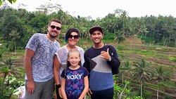 visiting tegalalang rice field ubud bali 😊🙏#mangwibalitransport #drivers #balidriverservice #b