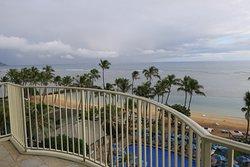 Ocean front lanai room view