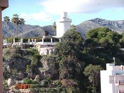 De uitkijktoren Parque La Bateria