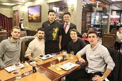Chef team sofitel legend metropole hanoi