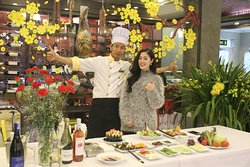 Cooking class on television