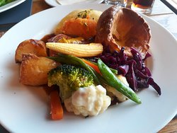 Sunday lunch to die for!
