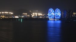 View of Phoenix Island from Four Points by Sheraton on Sanya Bay