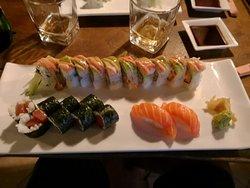 Very nice sushi.